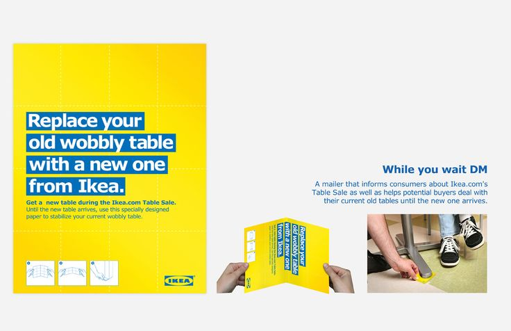 IKEA - Stabilise your table
