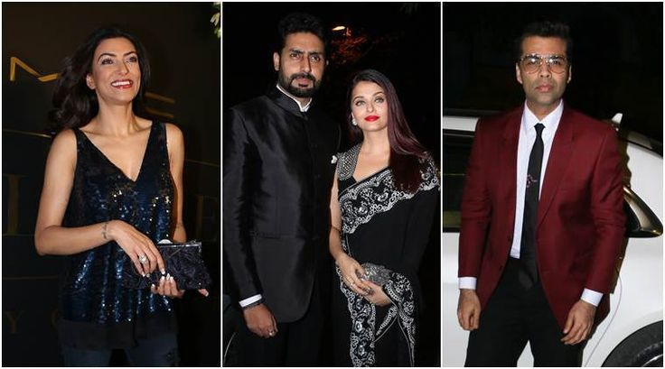 Aishwarya Rai, Sushmita Sen, Karan Johar and others include sparkle to Mickey Specialist's celebration https://goo.gl/1rGxwe