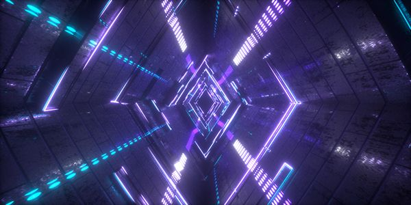 Light Tunnel on Motion Graphics Served