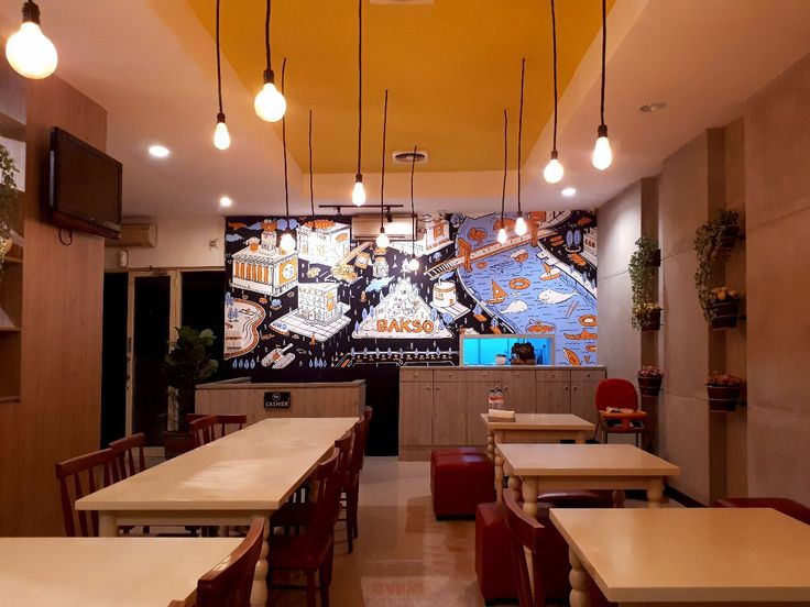 Mural Restoran Bakso Lapangan Tembak Bali, Mural for Restaurant-Mural by iMural