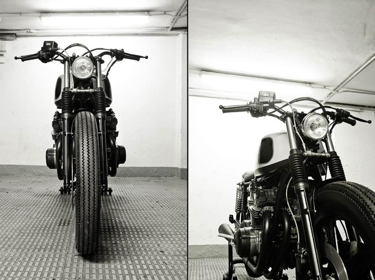Cafe Racer Dreams frontales