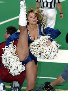 Nfl cheerleaders up skirt simply ridiculous