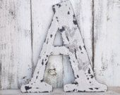 Farmhouse Wall Letter,Rustic Letter,Shabby Chic Letter,Rustic Wall Decor,Wall Gallery,Rustic Wall Letter,Large Wall Letter