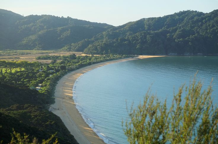Totaranui Beach in the late afternoon. You'll have the chance to visit this beach when you join us on our Abel Tasman Coastal Path trip in January 2017.