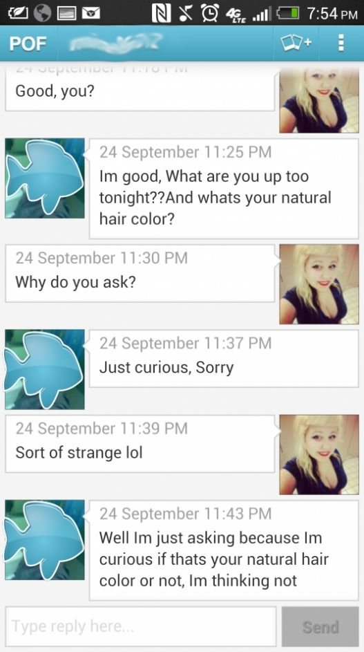 Getting harassed on online dating site pof