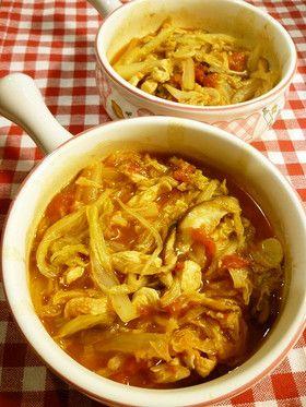 糖質オフ!イタリアンな白菜スープ♪