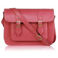 Pink crossbody satchel - handbags - ladies bags - autumn 2014