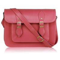 Pink crossbody satchel - handbags - ladies bags - autumn 2014