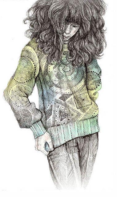 fancy sweater by Brett Manning