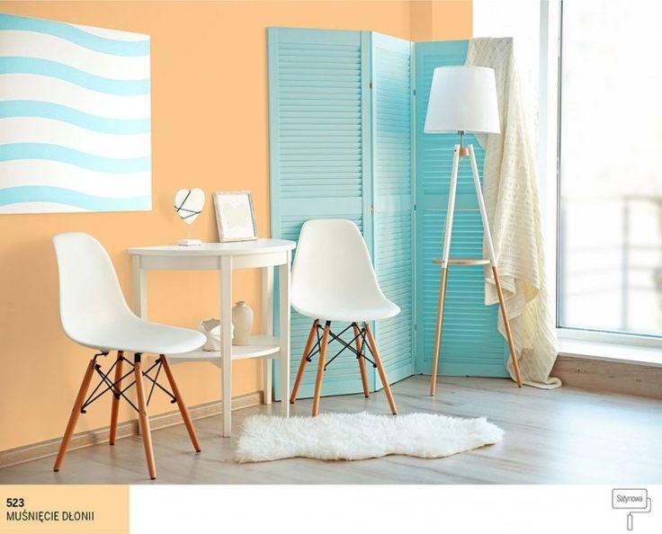 Ściany w kolorze łososiowym - 3 oryginalne inspiracje | Farby Śnieżka