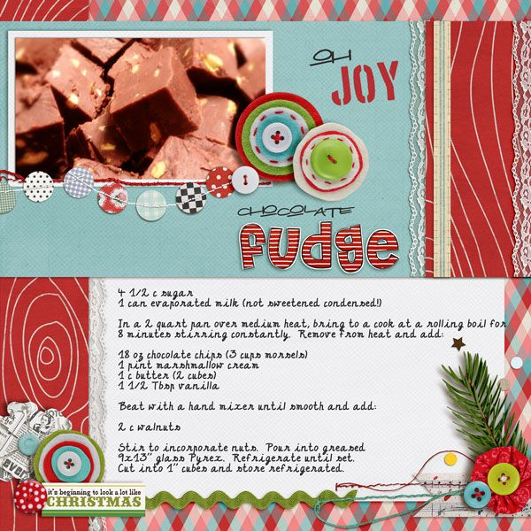 BYOC. Recipe FolderCookbook TemplateFudge ...