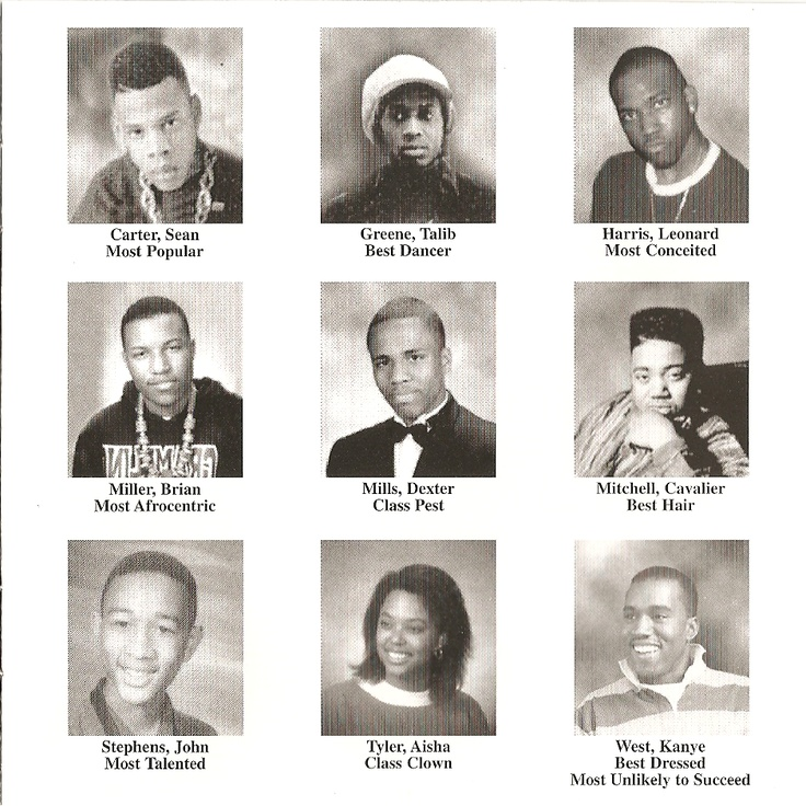 Jay Z, Tablib Kweli, CLC, Brian Miller, Consequence, Twista, John Legend, Aisha Tyler and Kanye West