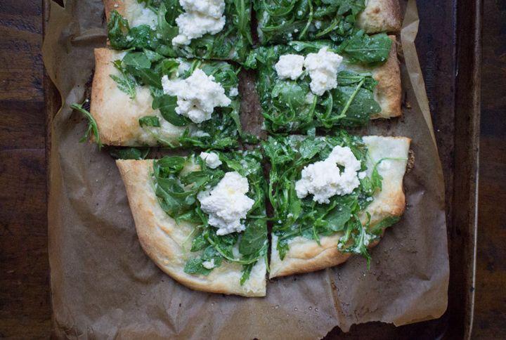 ... arugula salad arugula parmesan romano pizza sugar free mom pizza