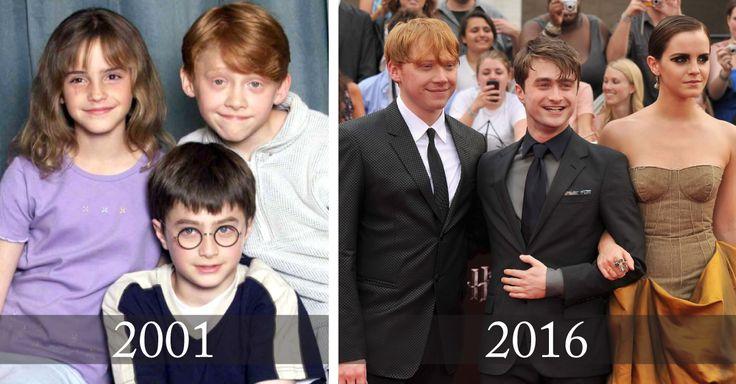 Tras 15 años de la primera aparición de la saga de Harry Potter, verás como ha evolucionado el reparto de la película que dio marcó a toda una generación.