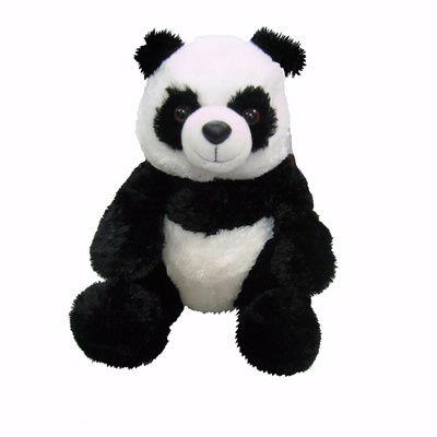 Panda silky plush toy