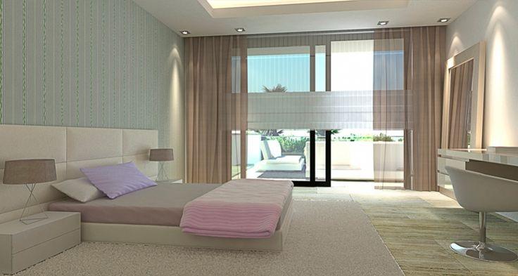 ARK Architects - Villa Mozart marbella, bedroom.