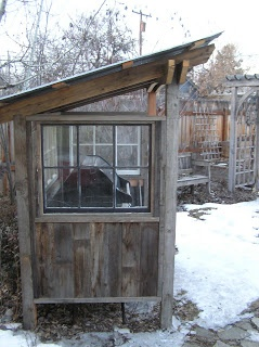 Grill Shed - so we can grill year round!