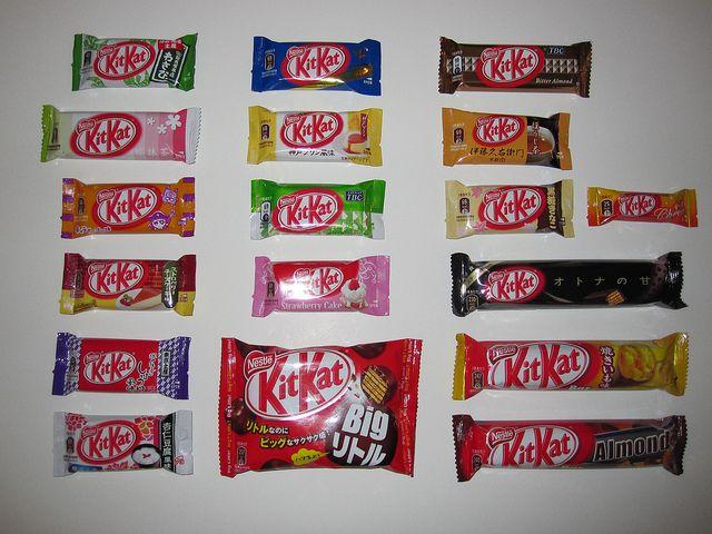 Kit Kat Flavors | Japanese Kit Kat Flavors | Flickr - Photo Sharing!