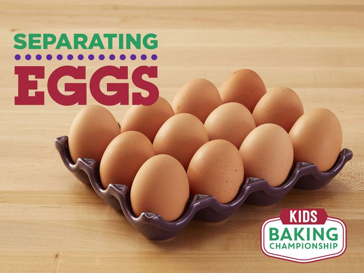 5 Ways to Separate Eggs — Kids Baking Championship : Learn these shortcuts so you can up your baking game.