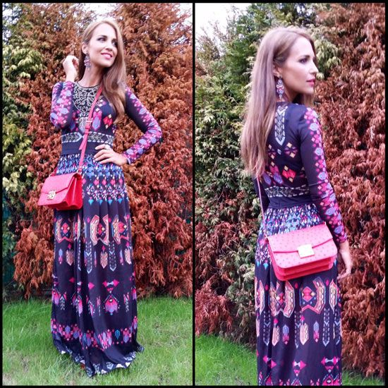 Tras la pista de Paula Echevarría » My favorite long dress