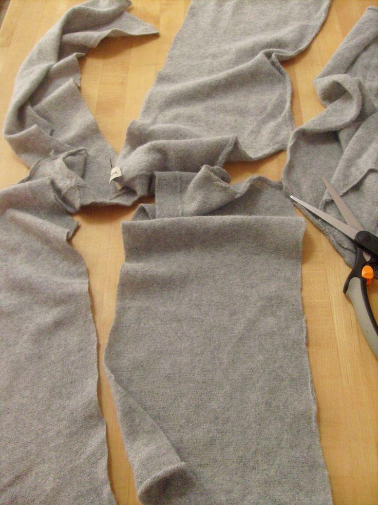 Erstaunliches Tutorial zum Sweater-in-Infinity-Schal