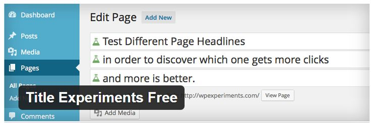 5 Remarkably Useful #Plugins to #Split #Test Your #WordPress Blog http://bit.ly/1Aifemi