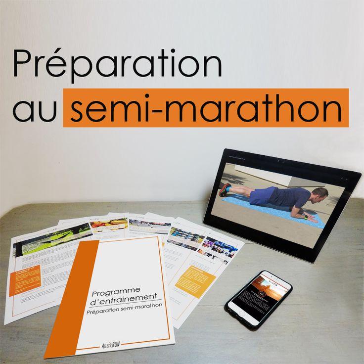 Ton programme d'entraînement personnalisé pour te préparer à courir un semi-marathon!