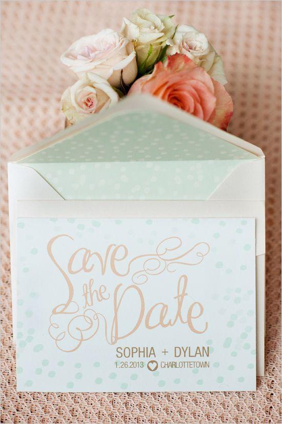 Beautiful save the dates!