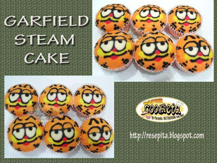 Garfield Fancy Steam Cake