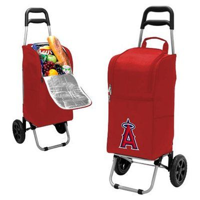 Los Angeles Angels of Anaheim Cart Cooler - Red