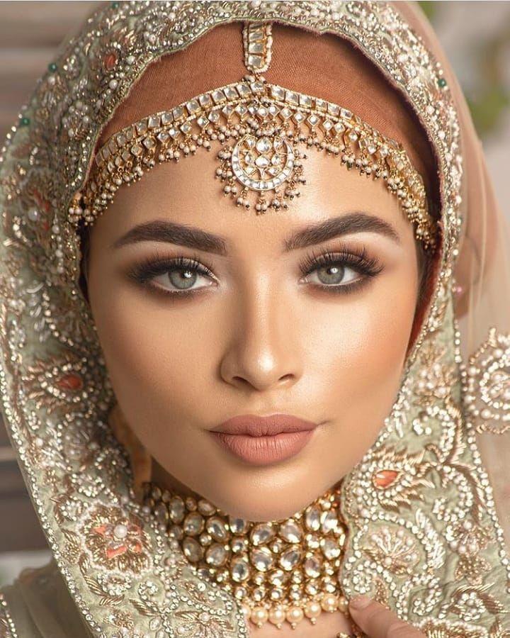 Bridal Makeup Hijab Makeup Wedding Dresses Images Indian