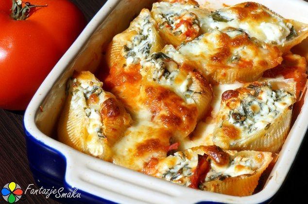 Muszle z serem feta i szpinakiem zapiekane w sosie pomidorowym z bakłażanem http://fantazjesmaku.weebly.com/muszle-z-serem-feta-i-szpinakiem-zapiekane-w-sosie-pomidorowym-z-bak322a380anem.html