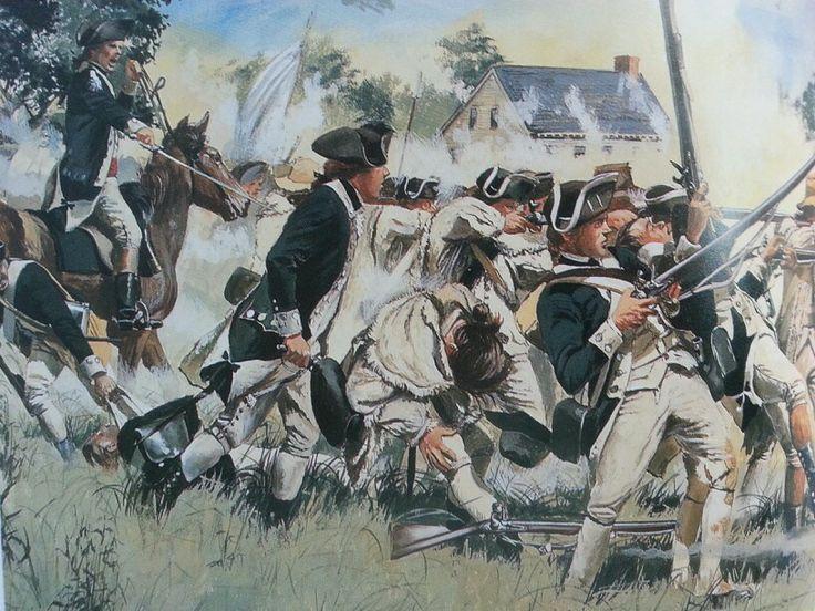 Battle Of Long Island Conneticut Militia