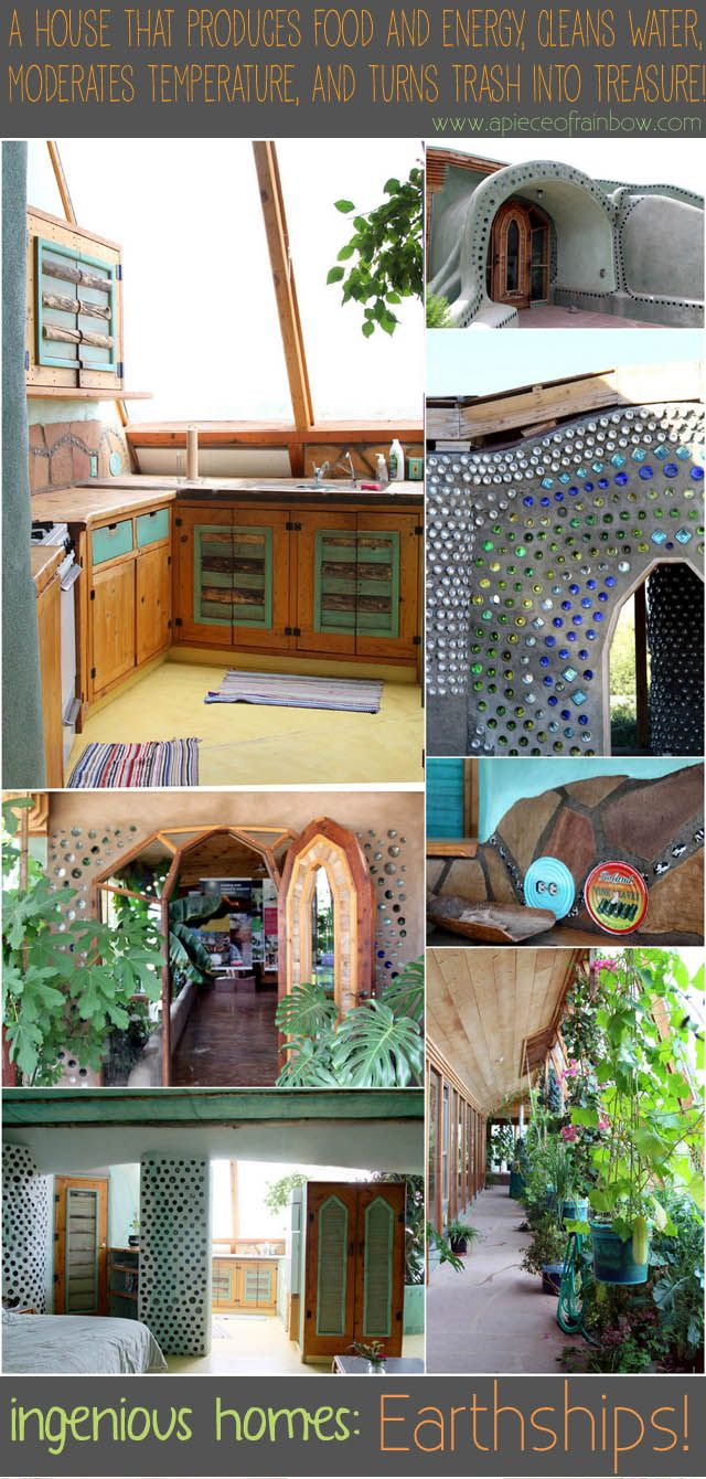 An unique type of house which produces food and energy, cleans water, moderates temperature, and turns trash into treasure! Staying at an Earthship - A Piece Of Rainbow