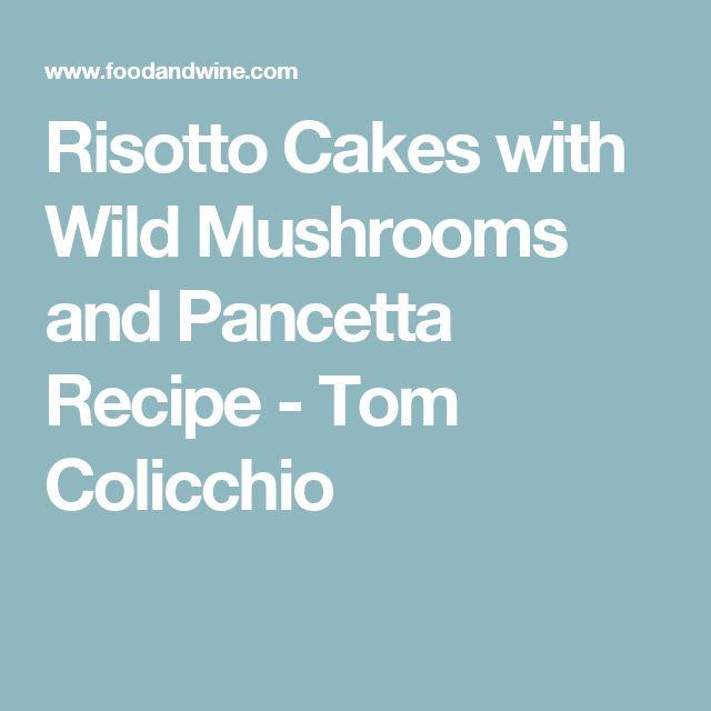 Leftover risotto cakes recipe