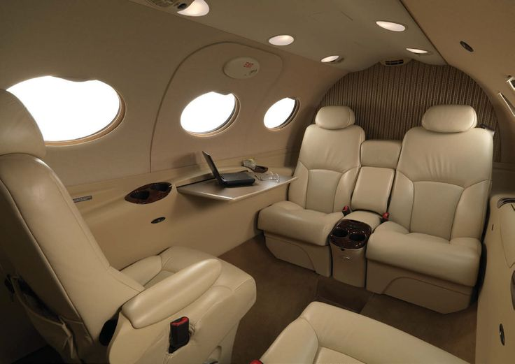 Interior Citation Mustang 4 seat Jet Privati