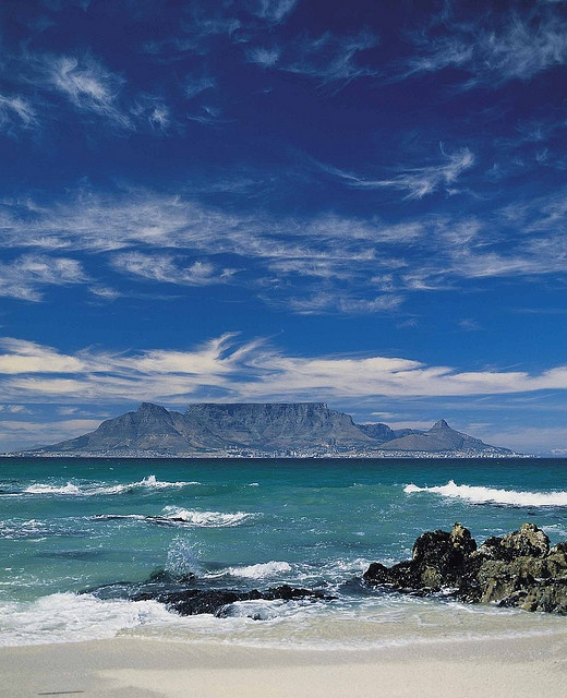 Table Mountain in the Mist - South Africa