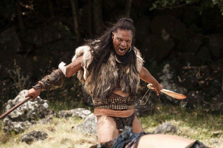 The Warrior (Lawrence Makoare) start in The Dead Lands Movie.  Māori Warrior. #DeadLandsMovie #Hautoa http://www.pinterest.com/bradwalker/