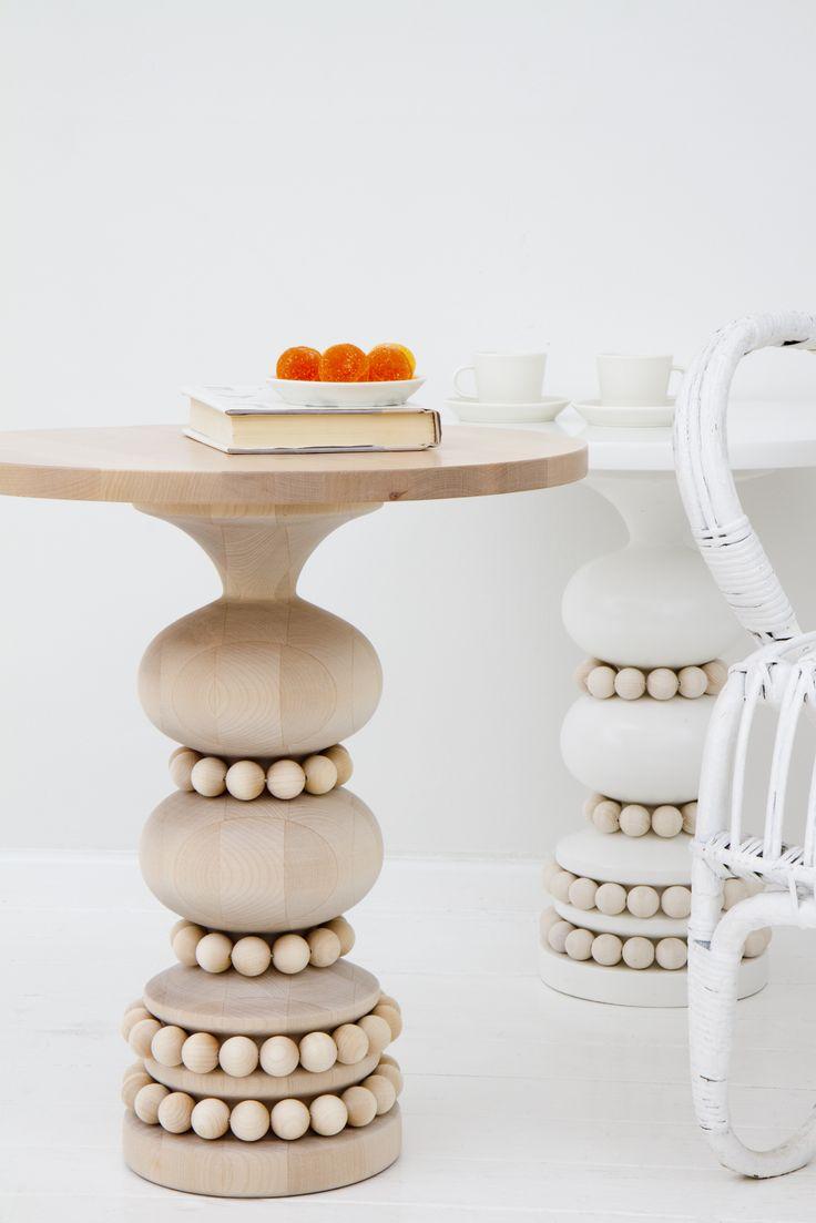 Wooden Keisarinna tables #Gourmetillo loves.... !!!