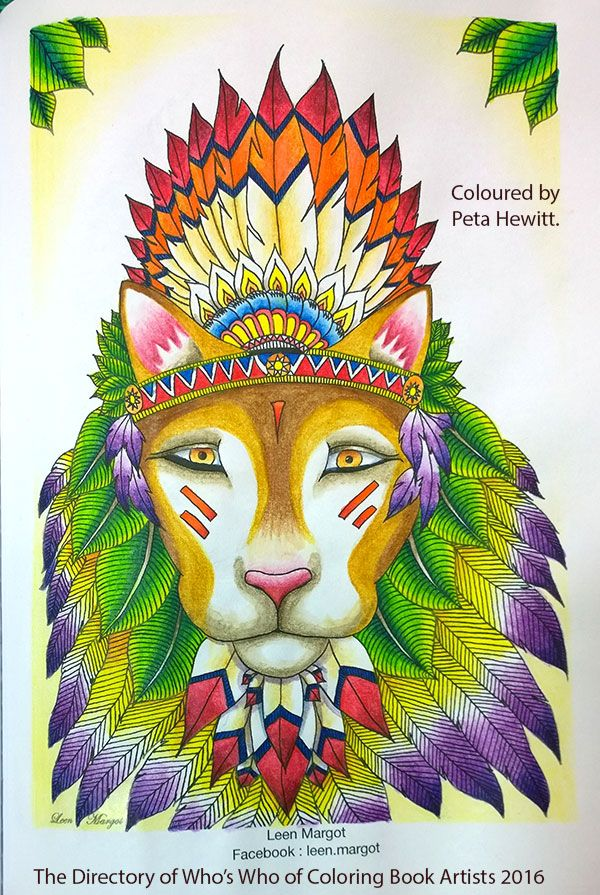 Review The Directory Of Whos Who Coloring Book Artists 2016 La Artistino Animal KingdomColoring