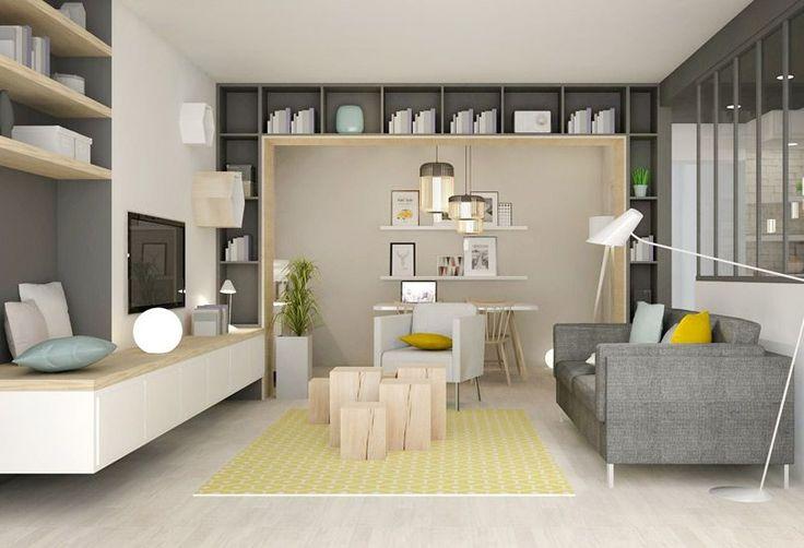 Les 20 meilleures id es de la cat gorie placard cach sur for Architecte d interieur petite surface