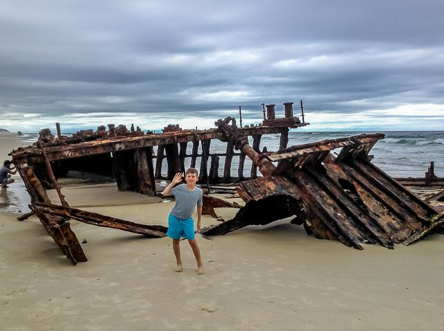 Angus Ellerman's debut travel blog about Fraser Island.
