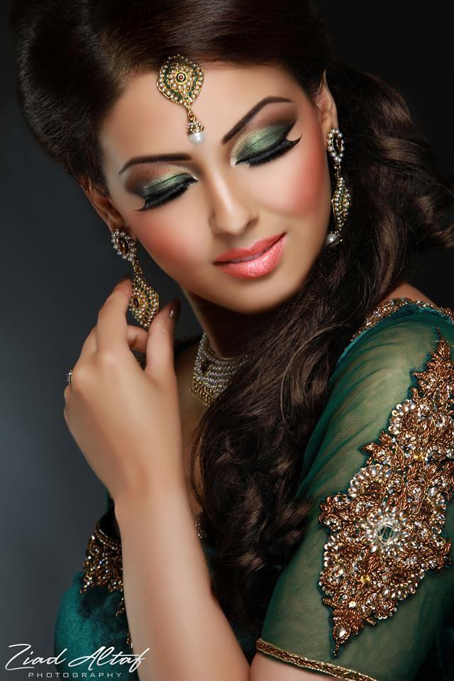Makeup by Fareeha Khan. jewelry