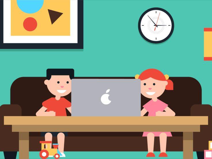 Kids/Mom/Spy - Character animation