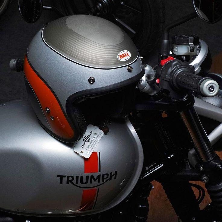 Новый Triumph Street Twin и шлем BELL Custom 500 - идеальная пара. Уже в Апреле в нашем салоне новые модели шлемов BELL и тест-драйвы мотоциклов Triumph!  #triumphmotorcycles #fortheride #streettwin #triumphbonneville #motorcycle #motobike #bikesofinstagram #triumphclassics #instabike #rideout #bikestagram #instamotorcycles #instamotogallery #triumphrussia #granmoto #bell #bellhelmets #bellcustom500 #custom500 #мотомосква #мотожизнь #мотосезон #мотосезон2016 #мото #мотоцикл #мотоциклы…