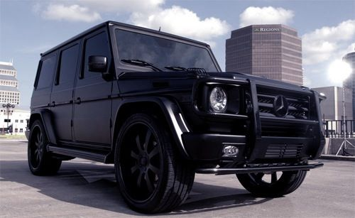 mercedes benz g class black on black john mario
