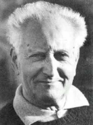 """Jean Giono (1895-1970). A French writer whose fictional work dealt to village life in Provence. The most known work, """"The Man Who Planted Trees"""" was filmed animated film of the same name. The story of Elzéard Bouffier, lonesome and quiet shepherd who steadily planted trees, not counting with the respect, prize etc., just doing it for the good purpose, is one of the strongest stories and ideas as you can find..."""