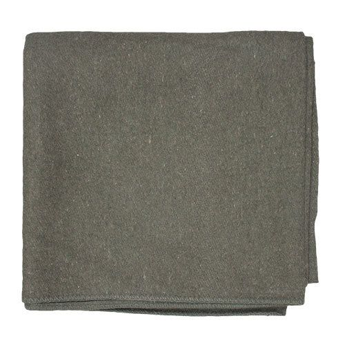 French Army Style Wool Blanket -818-4