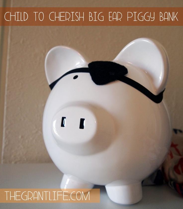 The Grant Life: Child to Cherish - Big Ear Piggy Bank