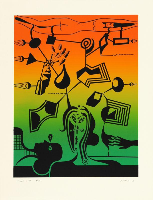Crépuscule - Alfred Pellan - Galerie Simon Blais - 5420, boul. St-Laurent, Montréal